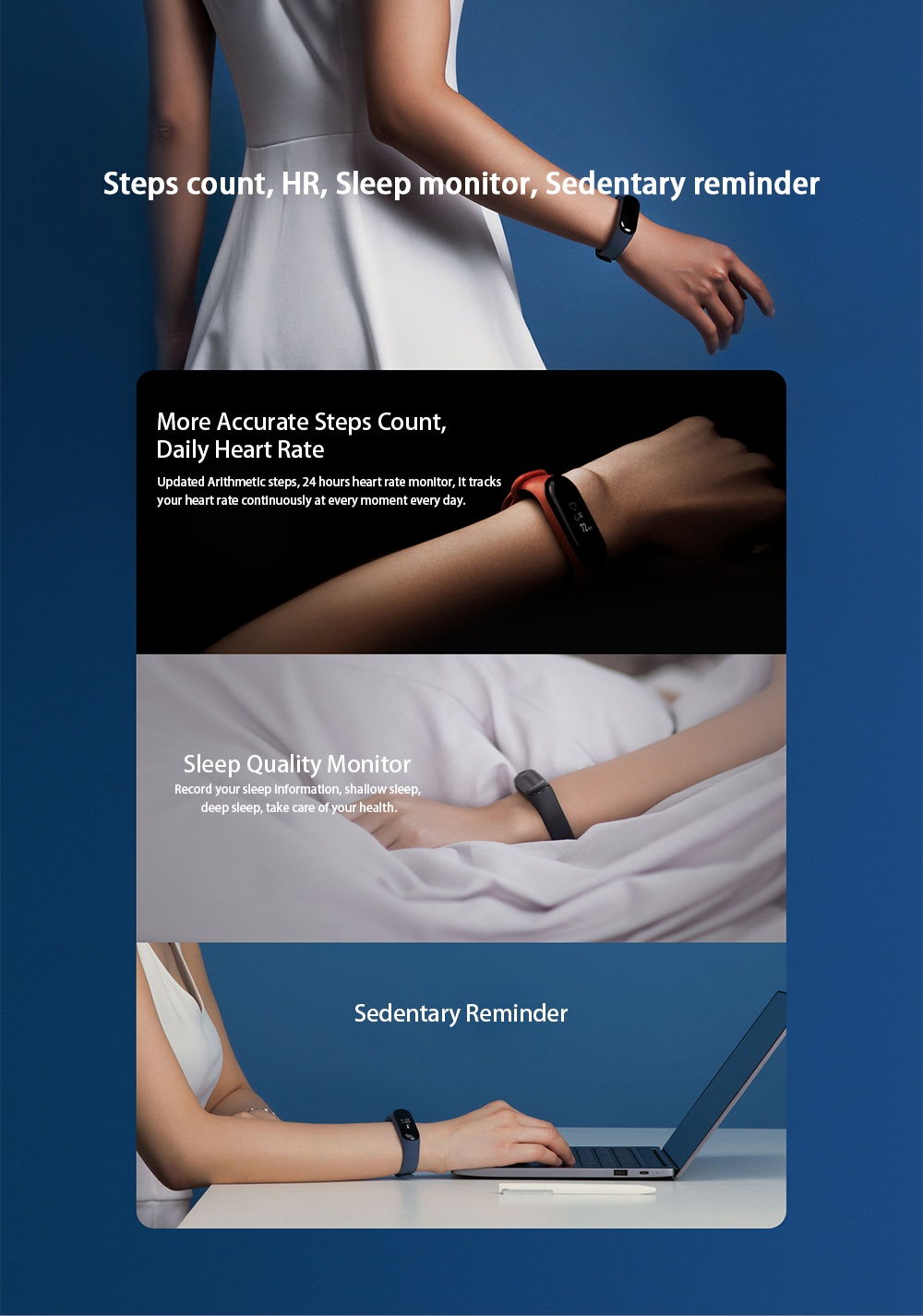 Mi band 3 sleep