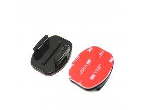 Gopro Accessories Flat Mount 3M VHB Adhesive Sticky For Xiao Mi Yi SJCAM SJ4000 SJ5000 WIFI