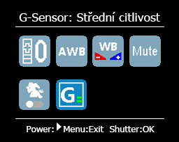 STRID_GSENSOR_MIDDLE_SENSITIVITY